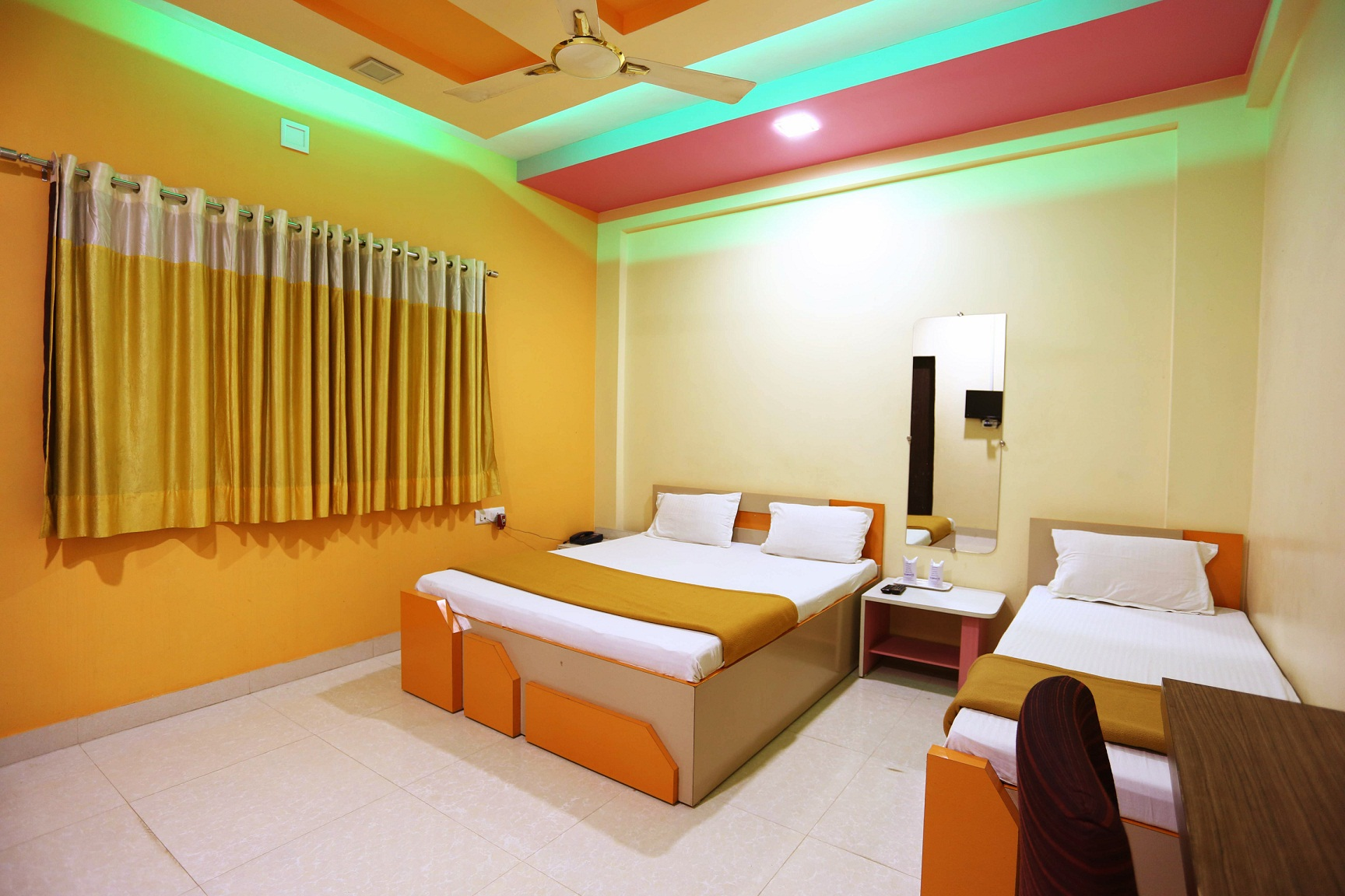 Hotel Somnath Sagar - Superior Three Bedded NON AC Room